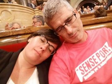 Mireia Boya, dormida