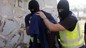 Líder de una célula yihadista detenido