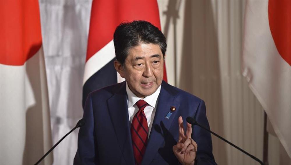 El primer ministro nipón, Shinzo Abe