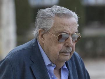 El padre de Ignacio González, a su llegada a la Audiencia Nacional
