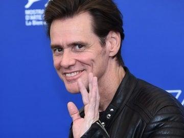 Jim Carrey en el Festival de Venecia