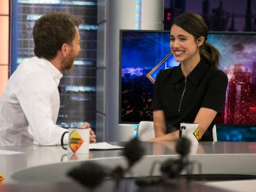 Margaret Qualley en 'El Hormiguero 3.0'