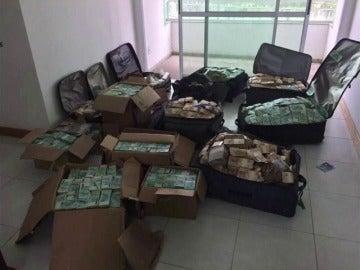 Hallados más de 6 millones de euros en un búnker de un exministro brasileño
