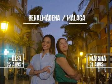 Marina y Desiré de Málaga