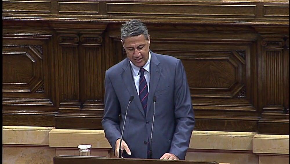 """Albiol: """"Lo que está ocurriendo en el Parlament es un secuestro de la democracia"""""""