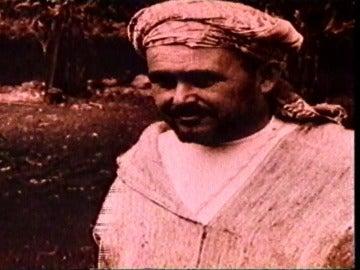 Abdelkrim en el exilio en la Isla la Reunión