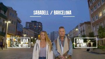 Lidia y Dani de Barcelona