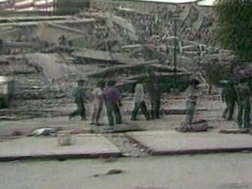 El terremoto de hoy en México supera el sismo de 1985