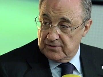 """Florentino Pérez habla sobre los árbitros: """"A veces no están a la altura"""""""