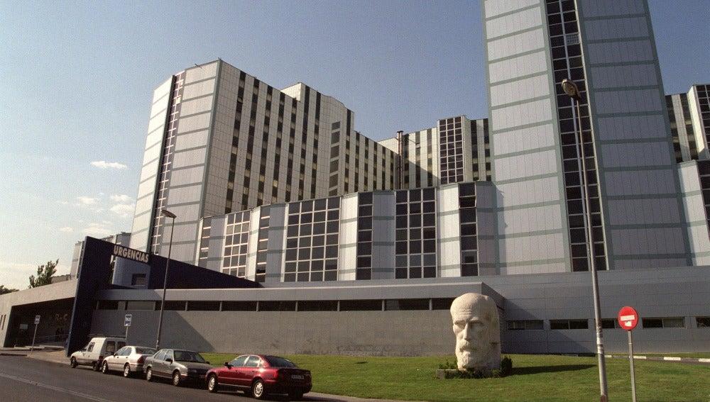 Vista del hospital Ramón y Cajal en Madrid