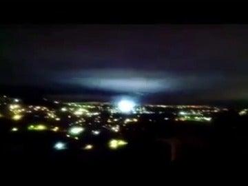 """""""Luces de terremoto"""" se han podido ver en el cielo de México"""