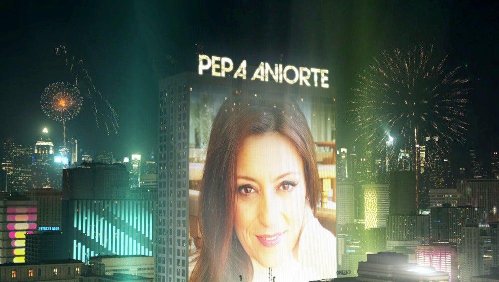 Pepa Aniorte en la nueva temporada de 'Tu cara me suena'