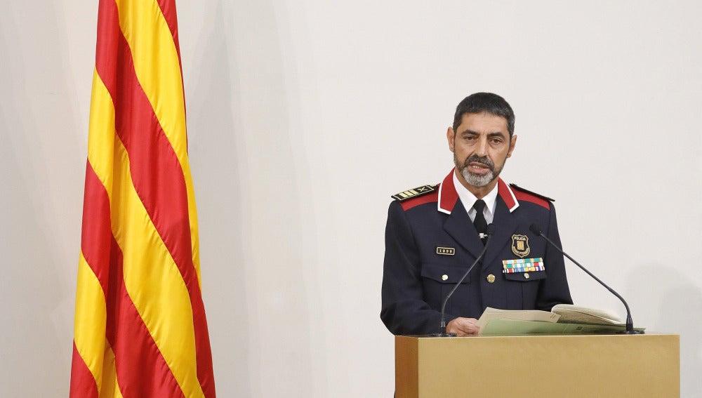 El mayor de los Mossos, Josep Lluís Trapero