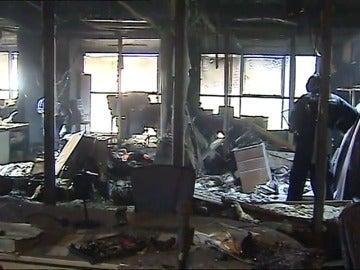 El Consell abre una investigación a la empresa encargada del mantenimiento de la Ciudad de la Justicia tras el incendio