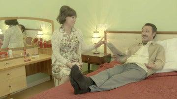 El placentero masaje de pies que Álvaro espera de Rosana