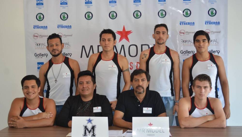 Los seis aspirantes a Mr Model Tabasco 2017