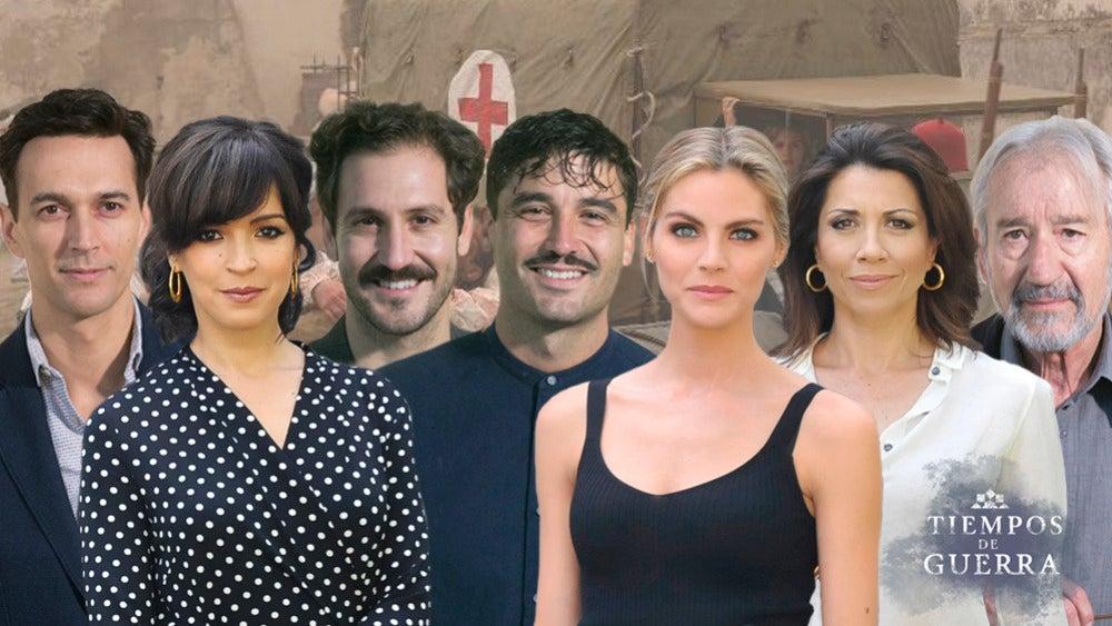 El Paso De Los Actores De Tiempos De Guerra Por Las Series De Antena 3
