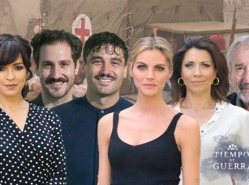 Los actores de 'Tiempos de guerra'