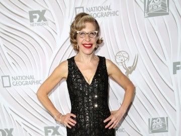 Jackie Hoffman en la gala de los Emmy 2017