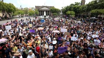 Marcha de mujeres en México