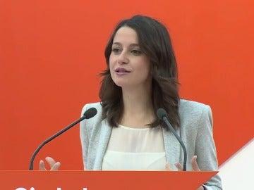 Ciudadanos reclama a PP, socialistas y Podemos responsabilidad y que apoyen una moción de censura