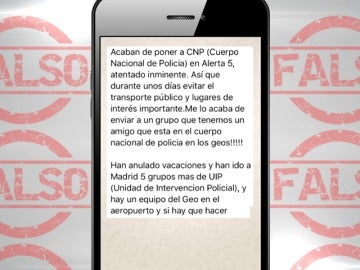 Detenida una mujer en Málaga por difundir una falsa alarma de atentado en WhatsApp