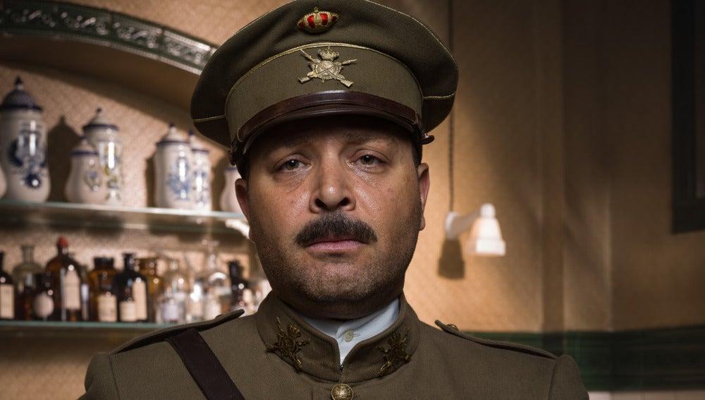 Vicente Romero es el Comandante Silva
