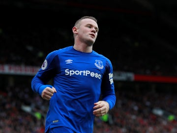 Rooney con el Everton