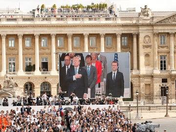 Donald Trump el 4 de julio en Francia