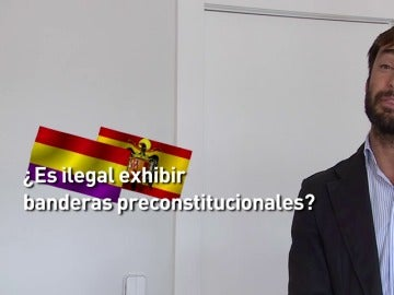 Tras la polémica del torero José Padilla, los expertos nos aclaran la legalidad de exhibir algunas banderas