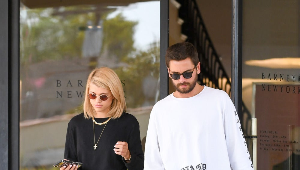 Scott Disick de compras en Los Ángeles junto a Sofia Richie