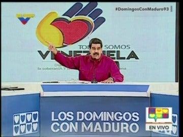 "Maduro insinúa que Rajoy actúa como un ""dictador"" ante el referéndum ilegal en Cataluña"