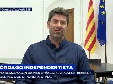 """Un alcalde del PSC que facilitará el referéndum ilegal del 1-O: """"¿Qué partido político está por delante de la voluntad de la gente?"""""""