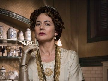 Cuca Escribano es la Reina Victoria Eugenia