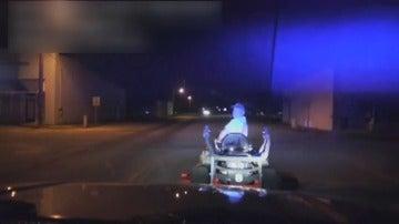 Detenido el Alcalde de un pueblo por conducir borracho una segadora