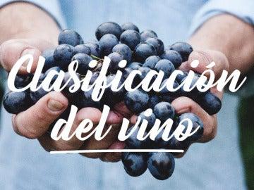 Los vinos por clasificación