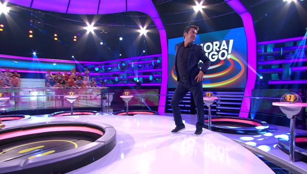 En nuevo 'look' de Arturo Valls para '¡Ahora Caigo!