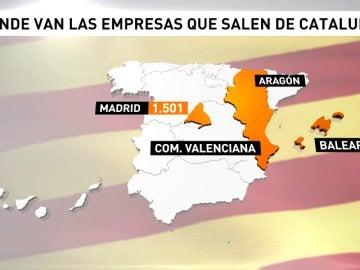 Unos ocho mil negocios han dejado Cataluña en los últimos 9 años