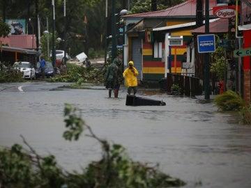 Guadalupe tras el paso del huracán María