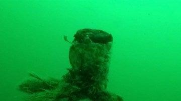 Submarino hallado