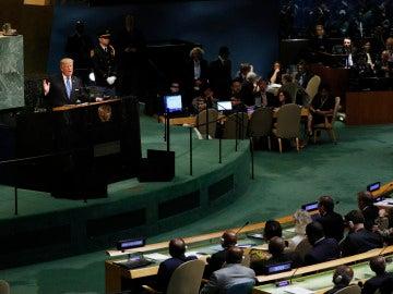 Donald Trump, ante la Asamblea General de la ONU