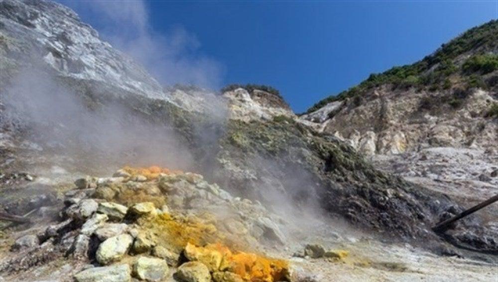 Volcán de Italia