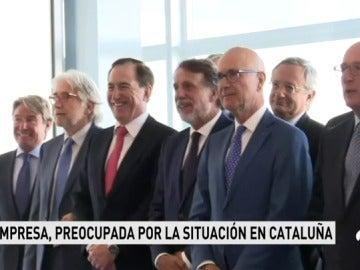 Reunión de empresarios del llamado 'Puente aéreo' en pleno debate independentista catalán