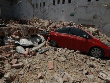 Diversos destrozos en Ciudad de México tras el fuerte terremoto