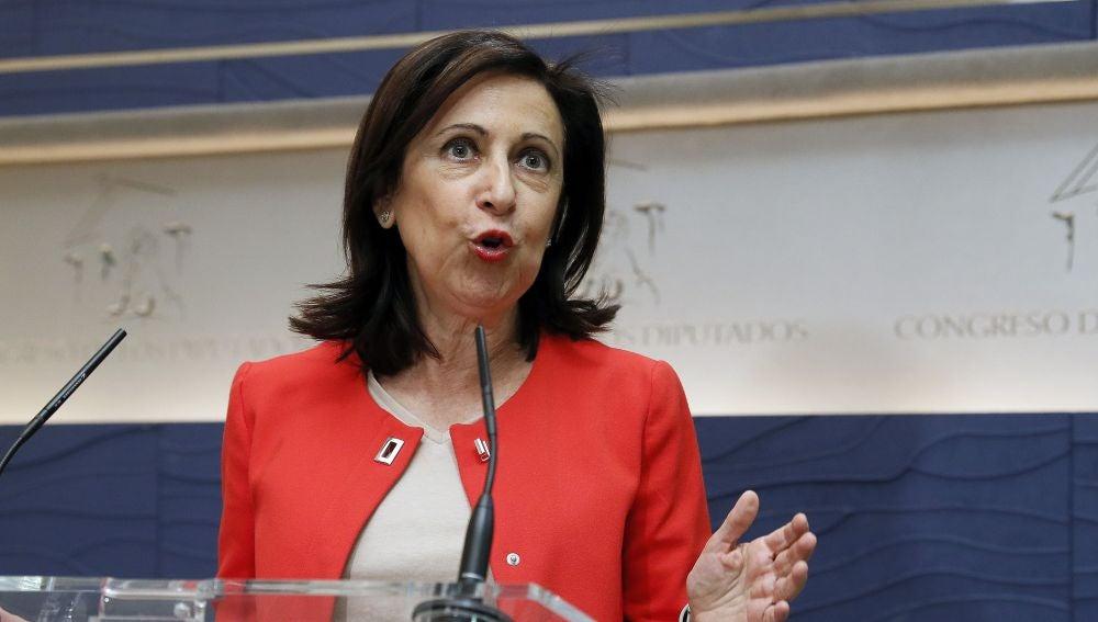 La portavoz de PSOE en el Congreso, Margarita Robles