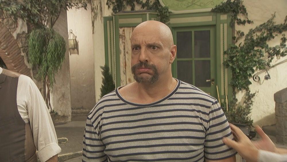 César Capilla es Tiburcio