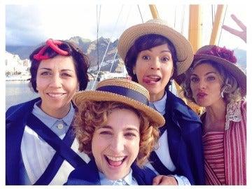 Alicia Borrachero, Verónica Sánchez, Anna Moliner y Amaia Salamanca