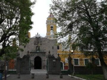 Templo Santiago Apóstol, Puebla, México