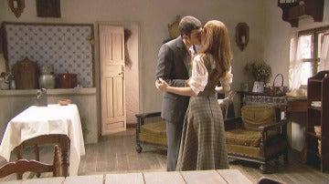 La reacción de Julieta al repentino beso de Prudencio