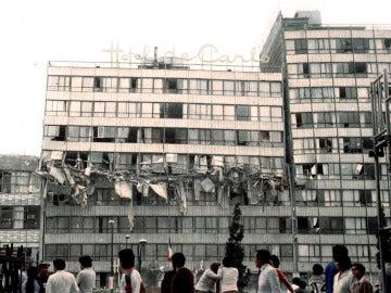 Daños del terremoto de México en 1985